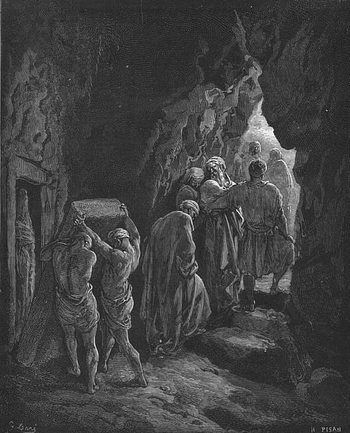 Burial of Sarah by Gustave Dore