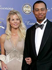 Nordregren and Tiger Woods