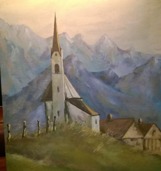 Church with Mountain View