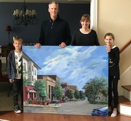 7 Pinckert Family with Painting (2)