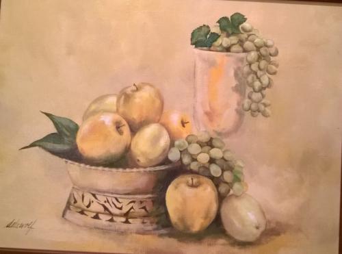 Marin's Grape Still Life (2)