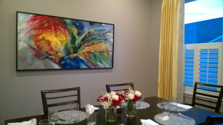 Primary Colors in Dining Room