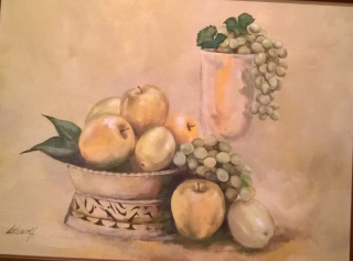 Marin's Grape Still Life (2)